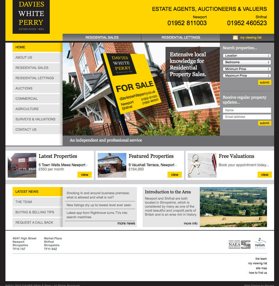 Moving For All The Right Reasons | Branding Design In Shropshire