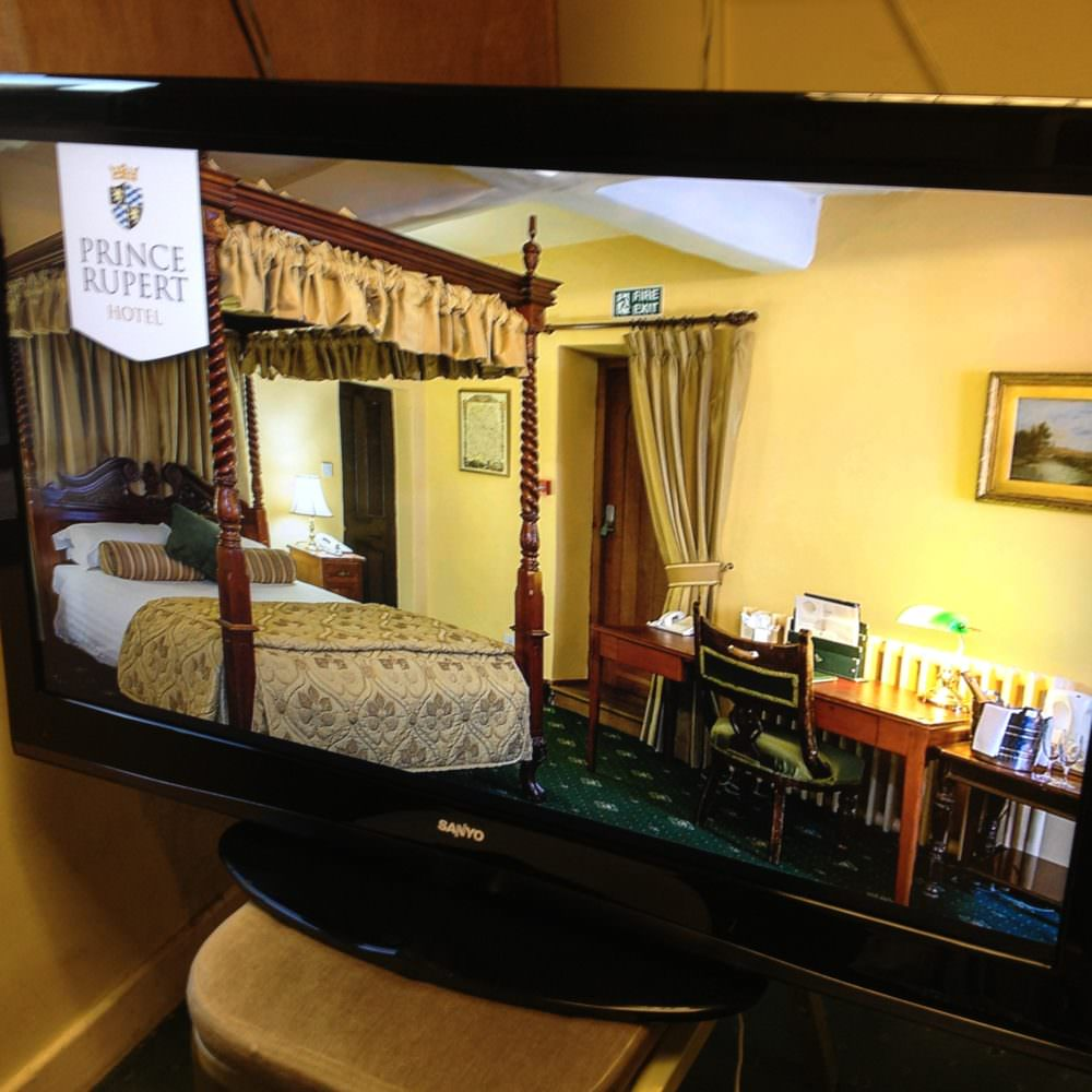 The Prince Rupert Is On TV | Marketing Agency In Shropshire