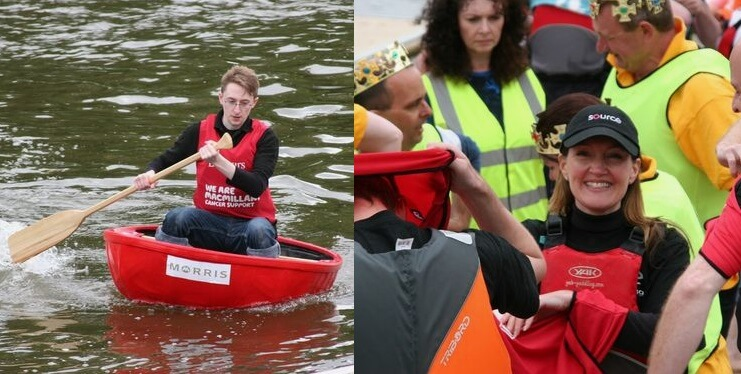 Source Fundraising For Macmillan At Coracle World Championships