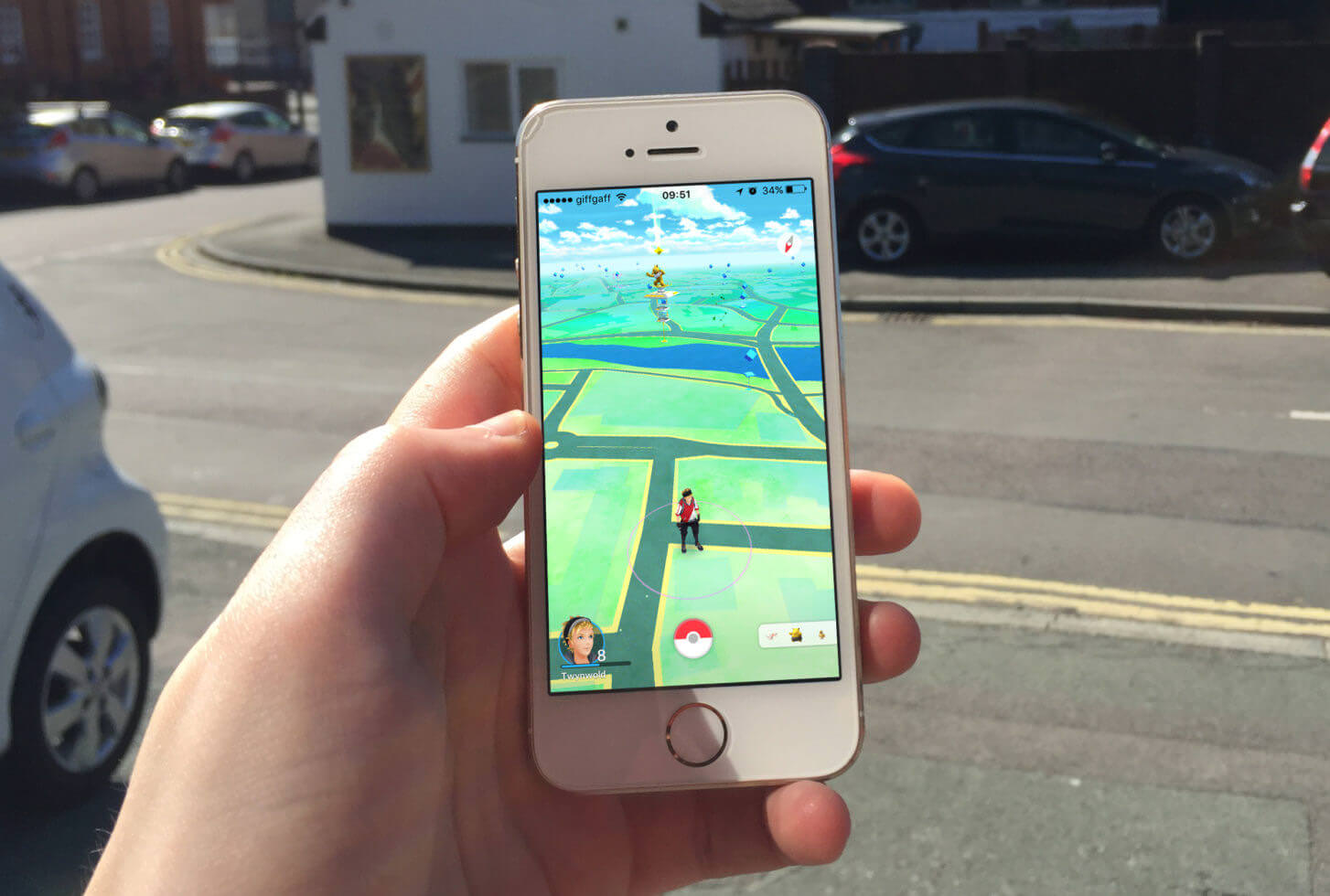 Pokémon Go Mobile Game