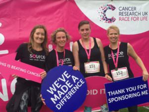 Source Race For Life 2017