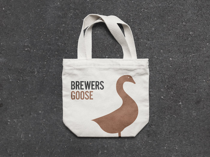 Brewer's Goose Tote Bag