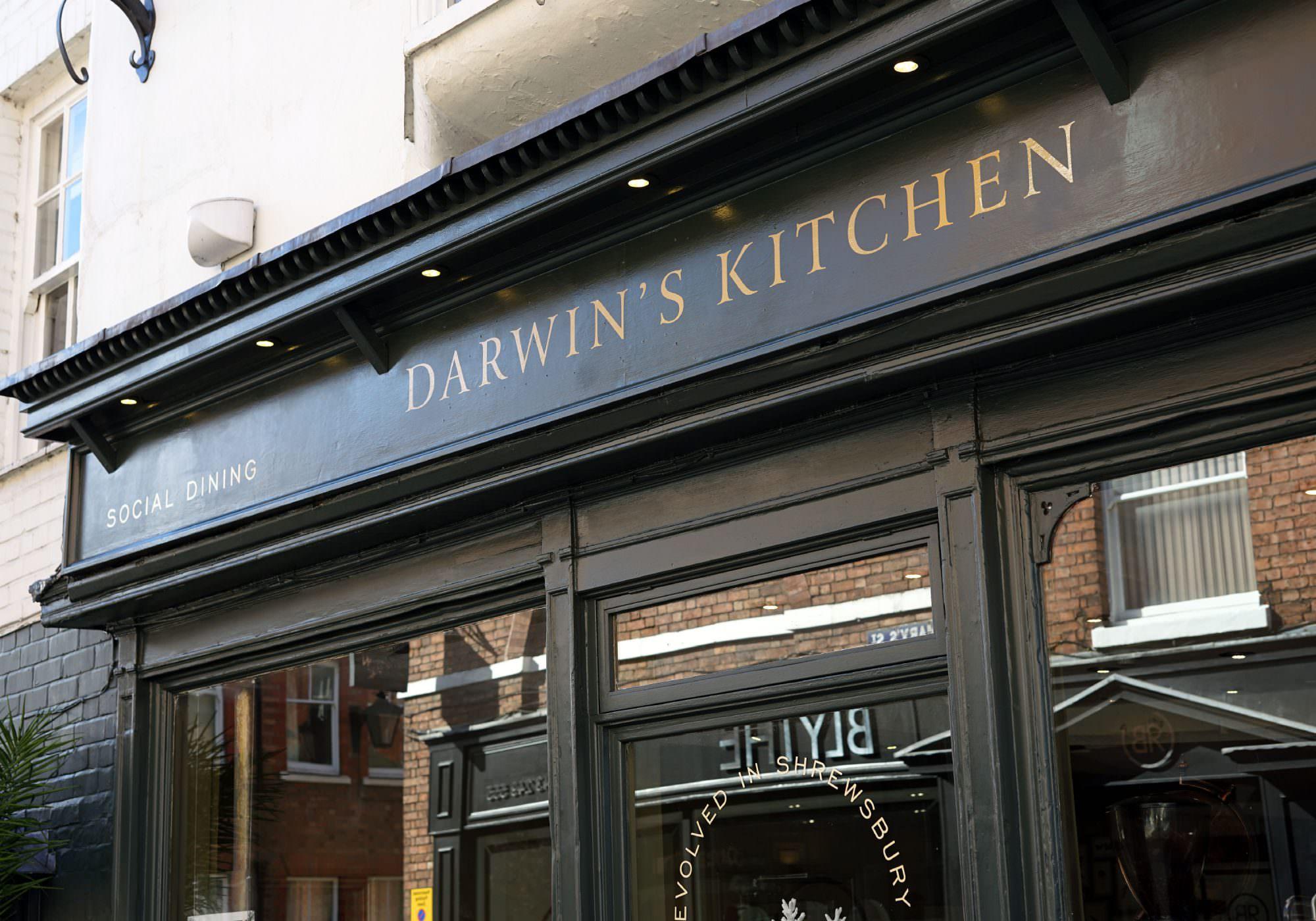 Darwin's Kitchen - Branding, Signage, Graphics, Menus & Social Media