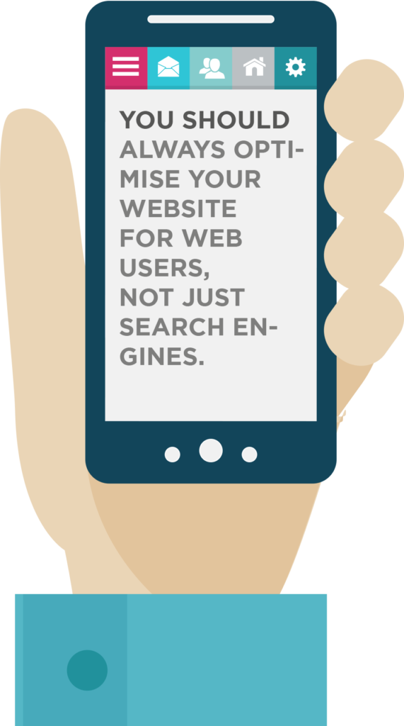 Optimise your website for mobile