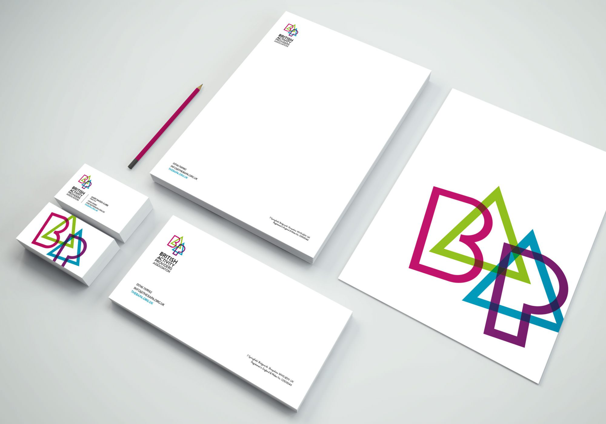 BAPA - Branding, Web Design & Stationery By Source In Shropshire