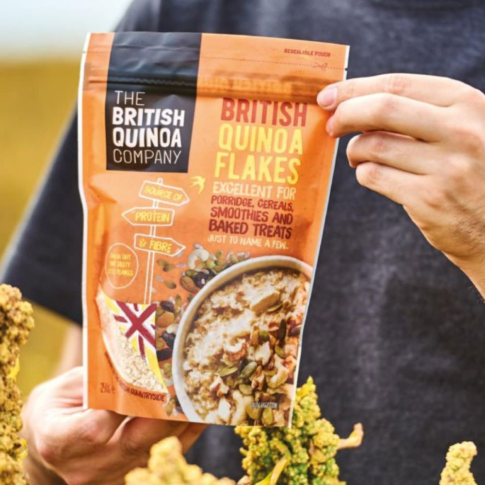 The British Quinoa Company - Packaging & E-commerce Web Design