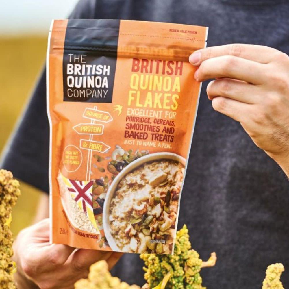 The British Quinoa Company - Packaging & E-commerce Web Design