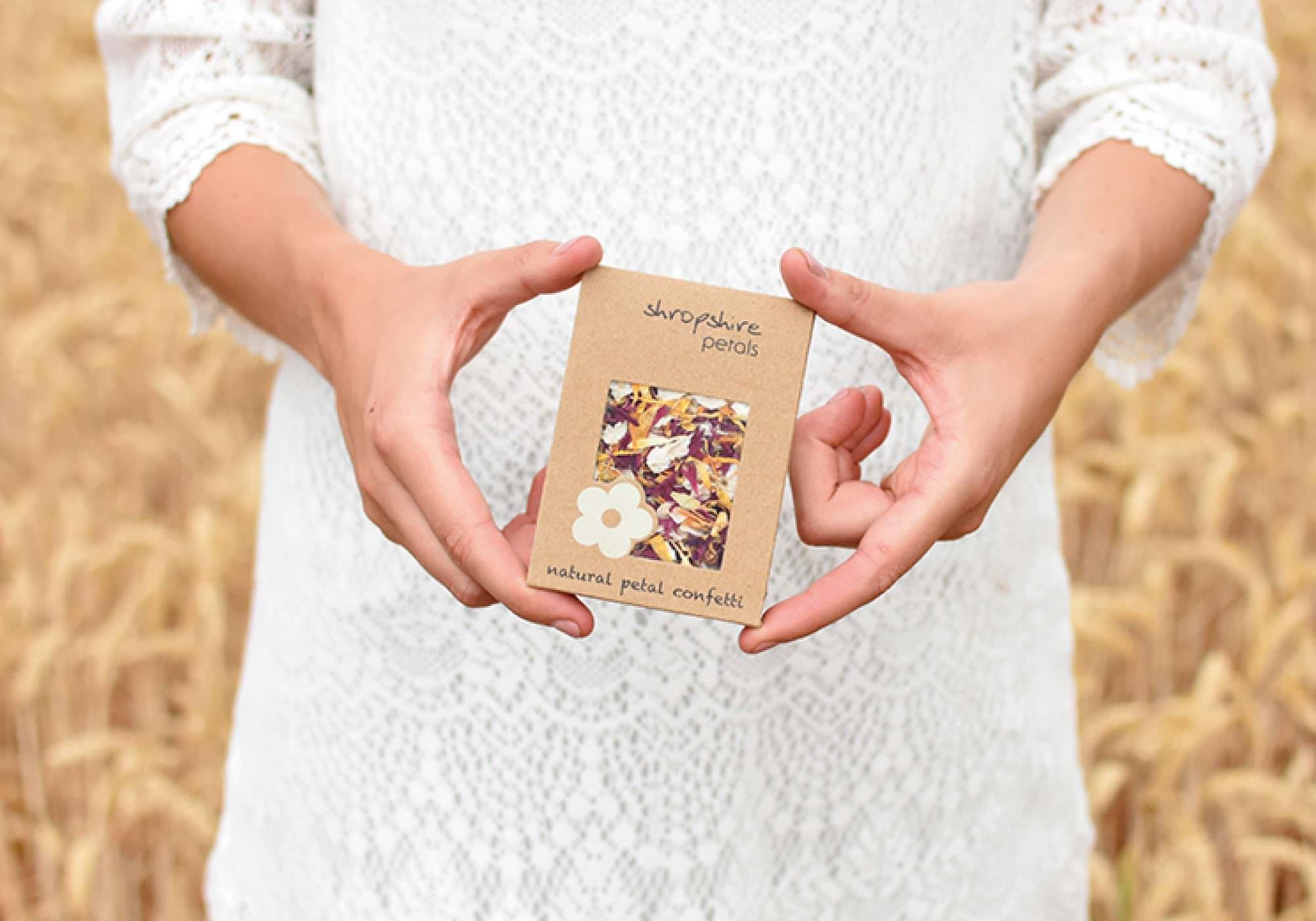Shropshire Petals - Brand Identity & E-commerce Website, Shropshire