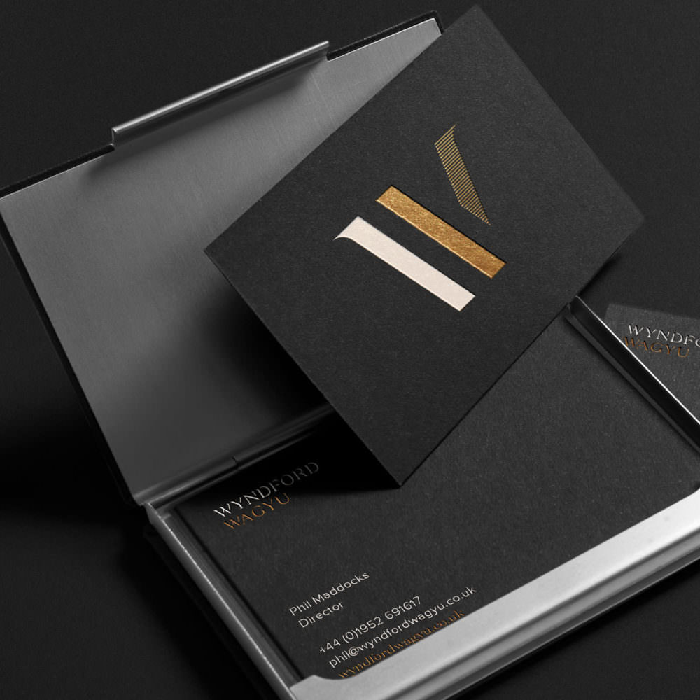 Wyndford Wagyu - Brand Identity & Website Design In Shropshire