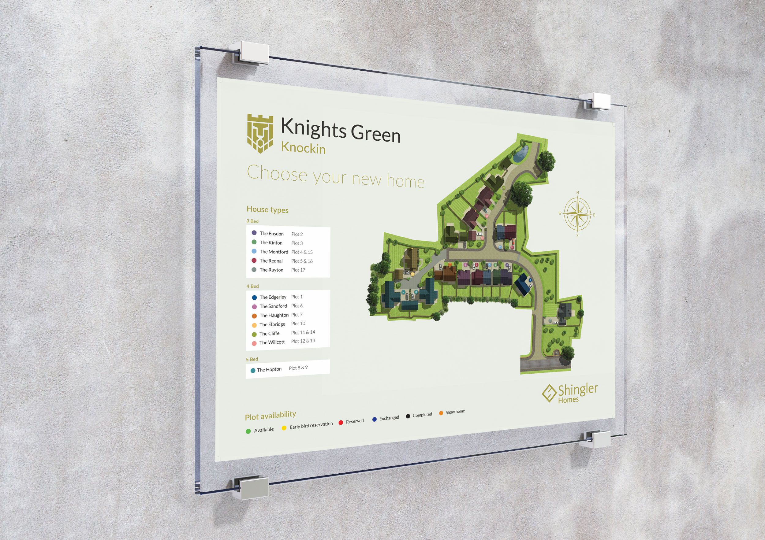 Shingler Homes sitemap