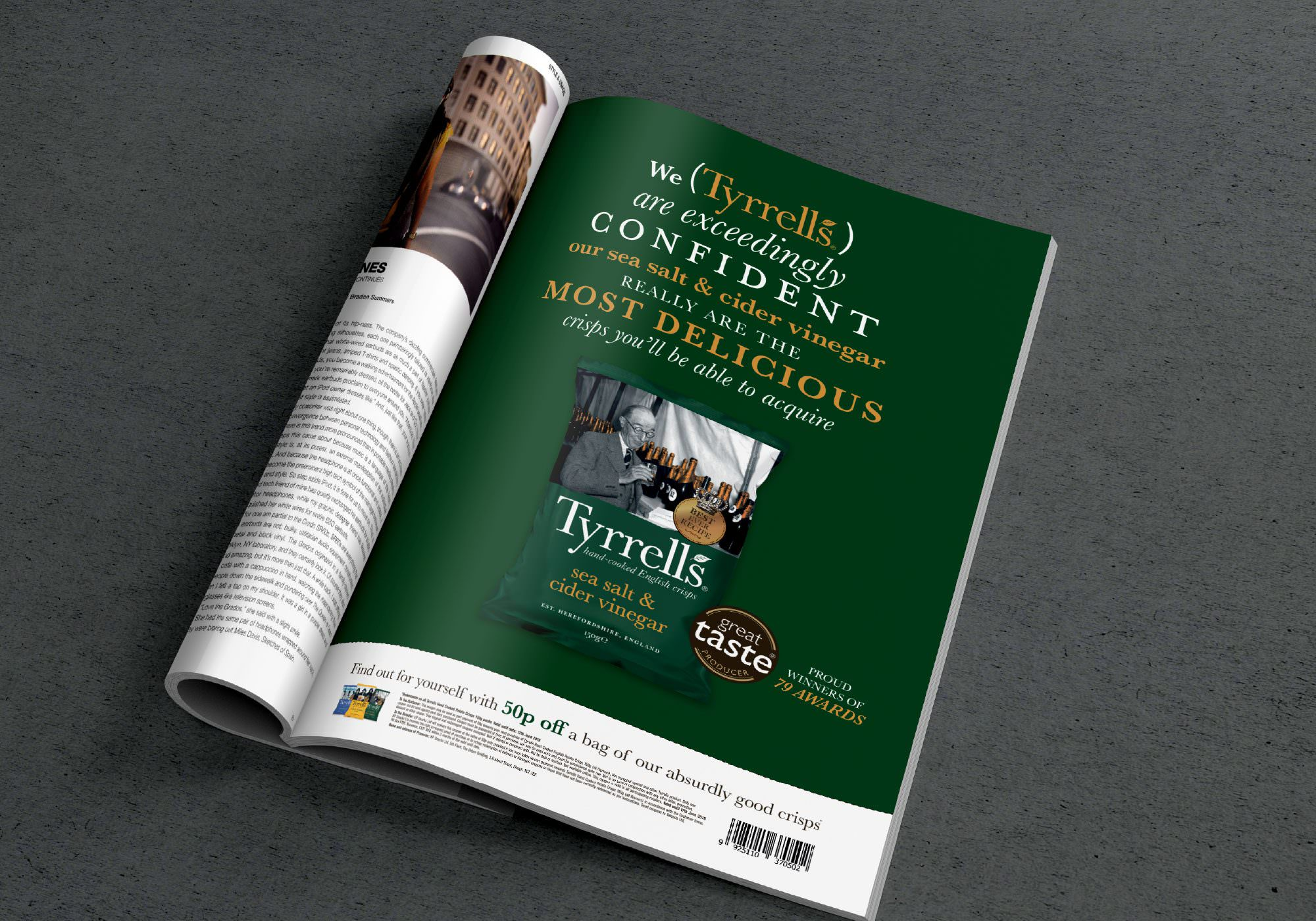Tyrrells – Website Development & Graphic Design In Shropshire