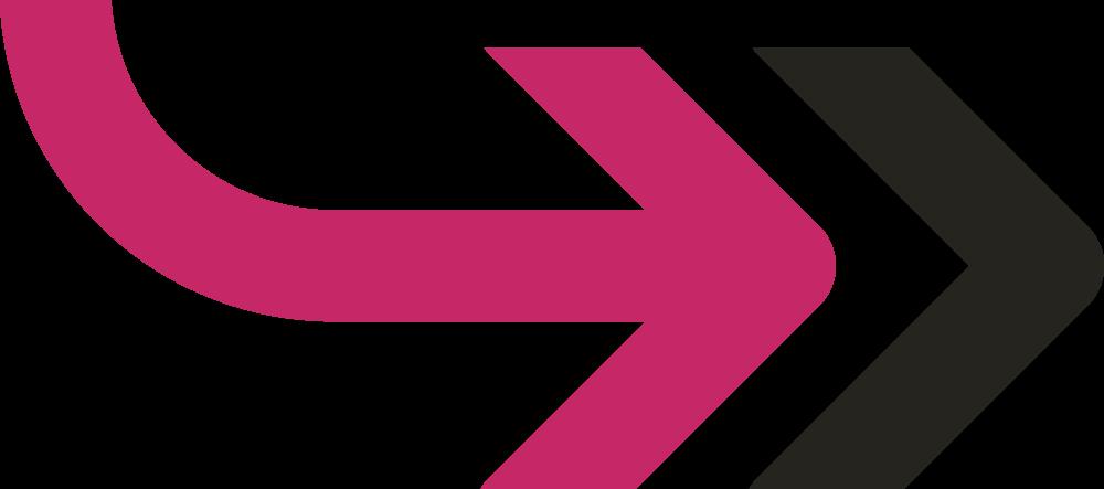 Paid traffic arrow