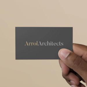 Arrol Architects New Stationery