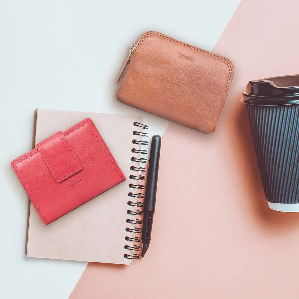 Golunski Leather Wallet, Coffee Cup & Notepad