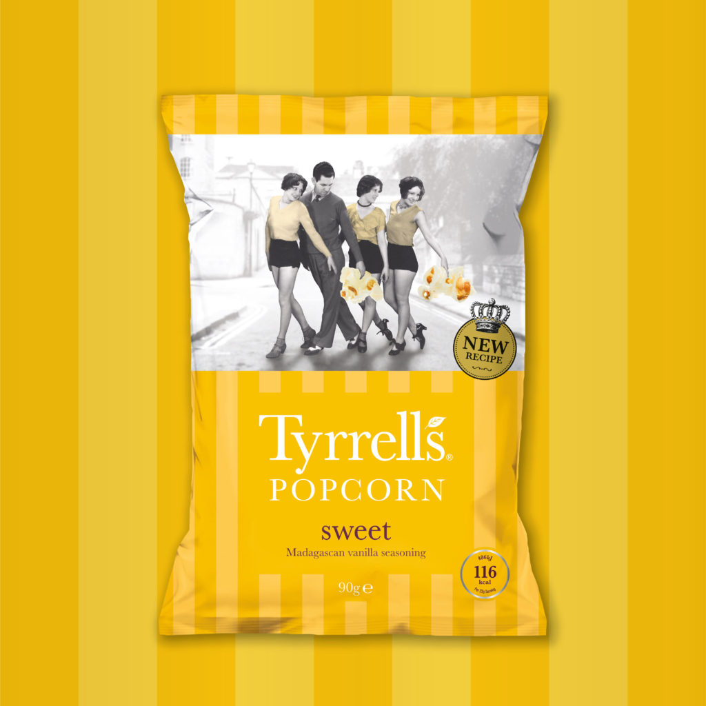 Shrewsbury Agency Designs New Tyrrells Popcorn Bags