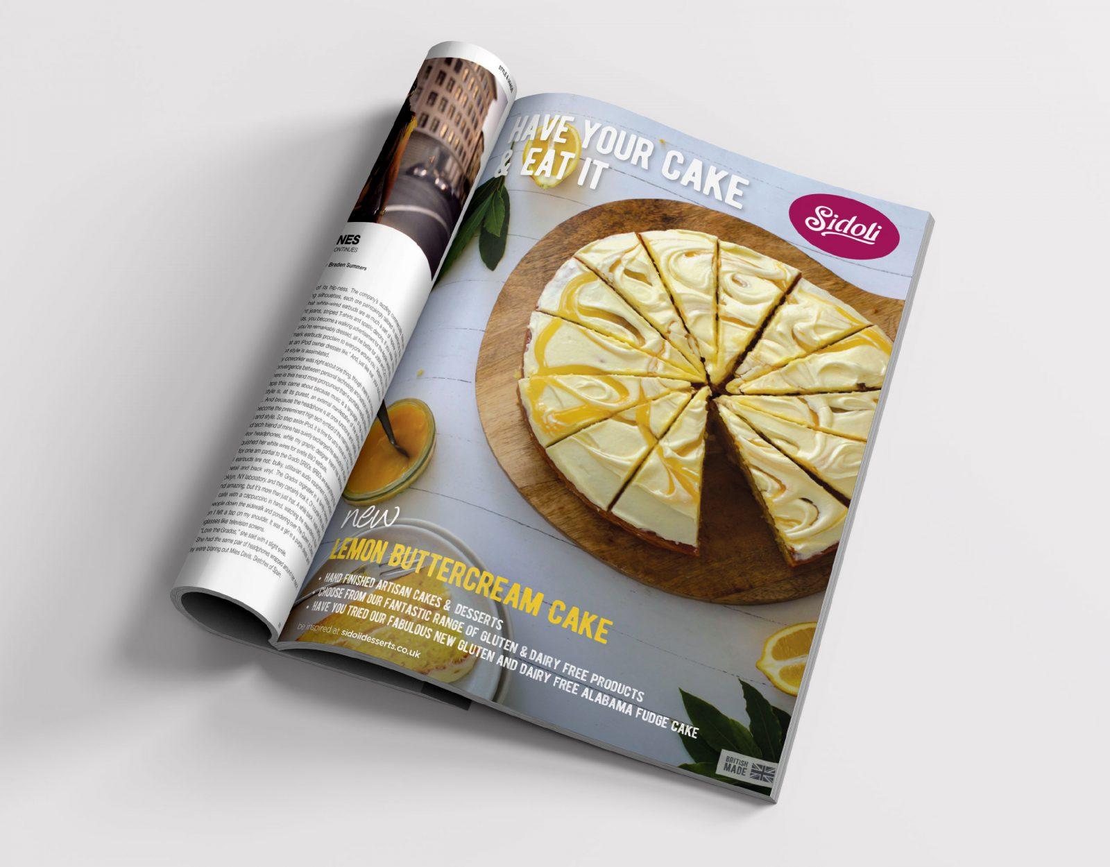 Sidoli magazine advert