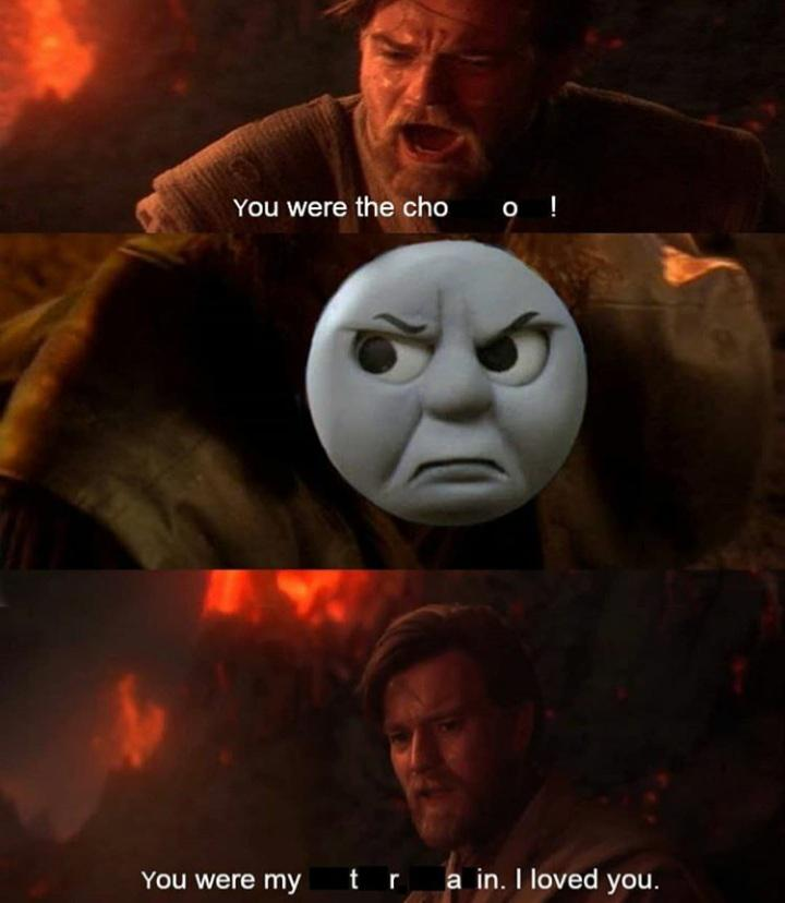 Thomas the Tank Engine Star Wars mash up meme