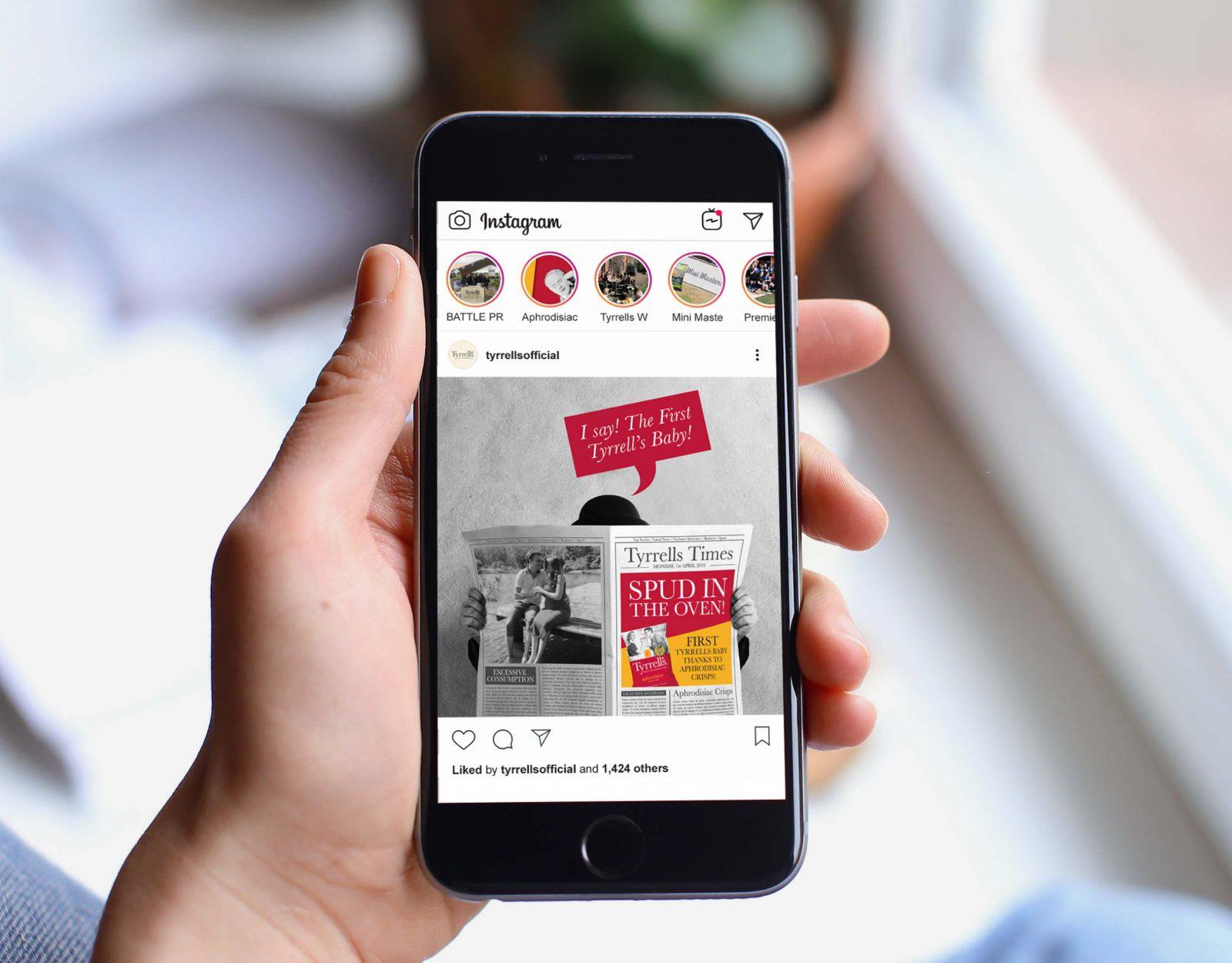 Tyrrells Instagram Mobile