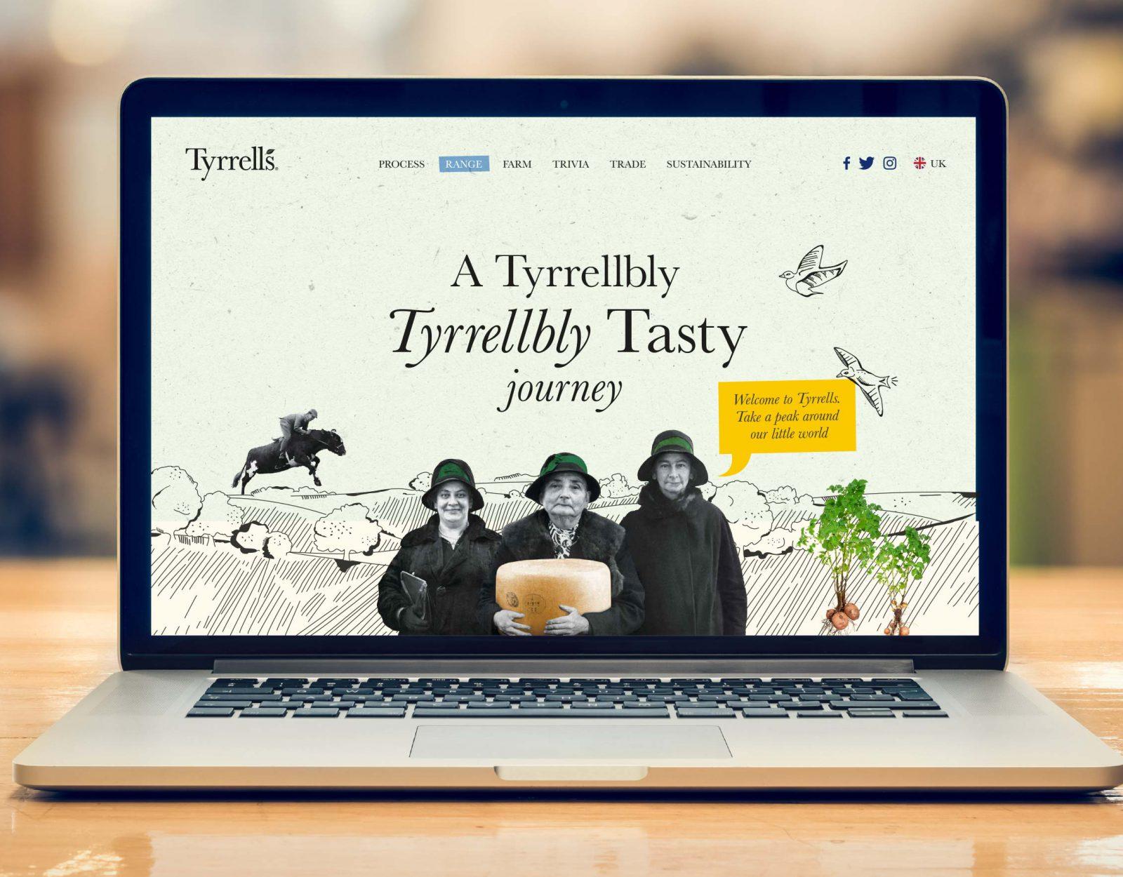 Tyrrells website