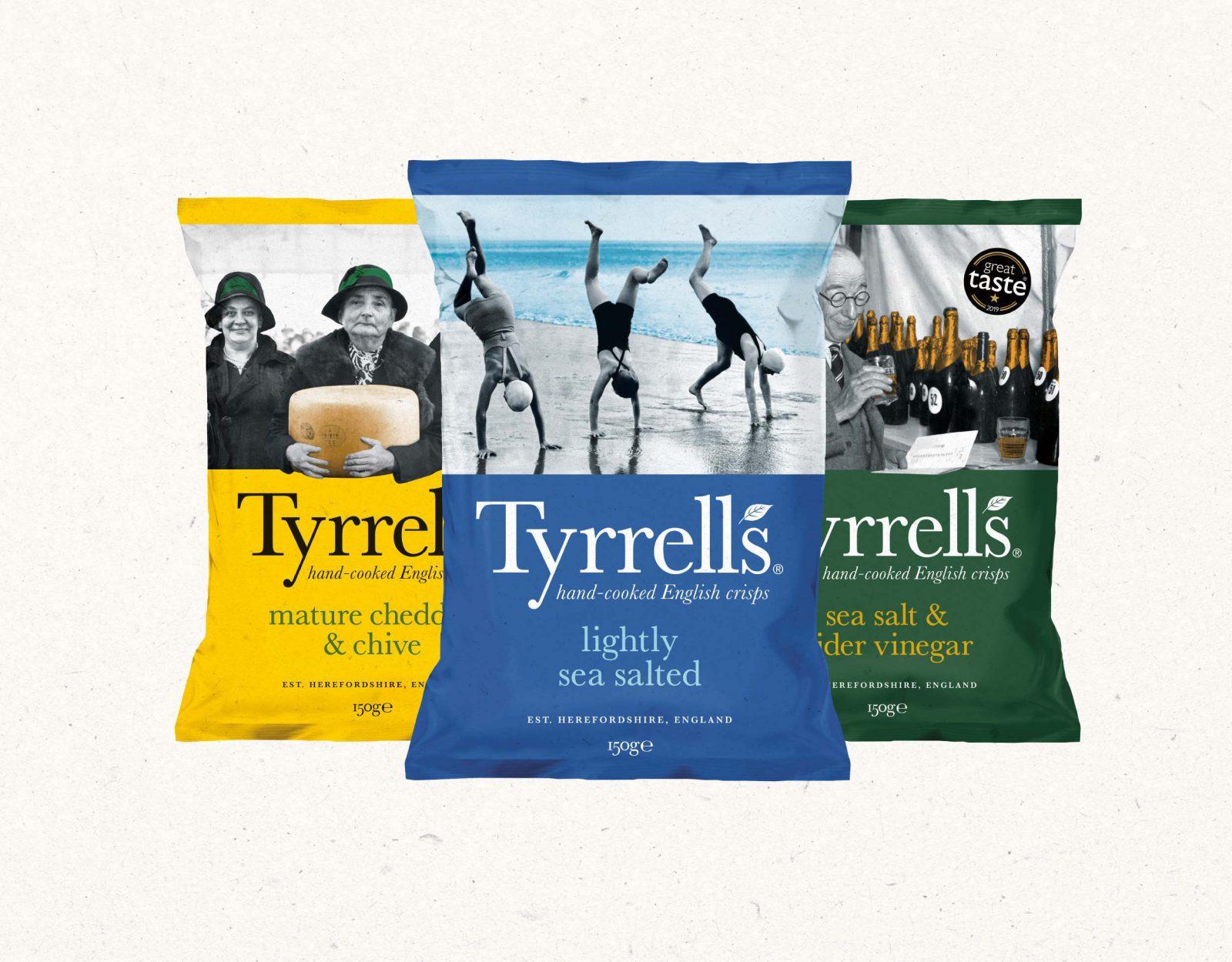 Tyrrells packaging hero