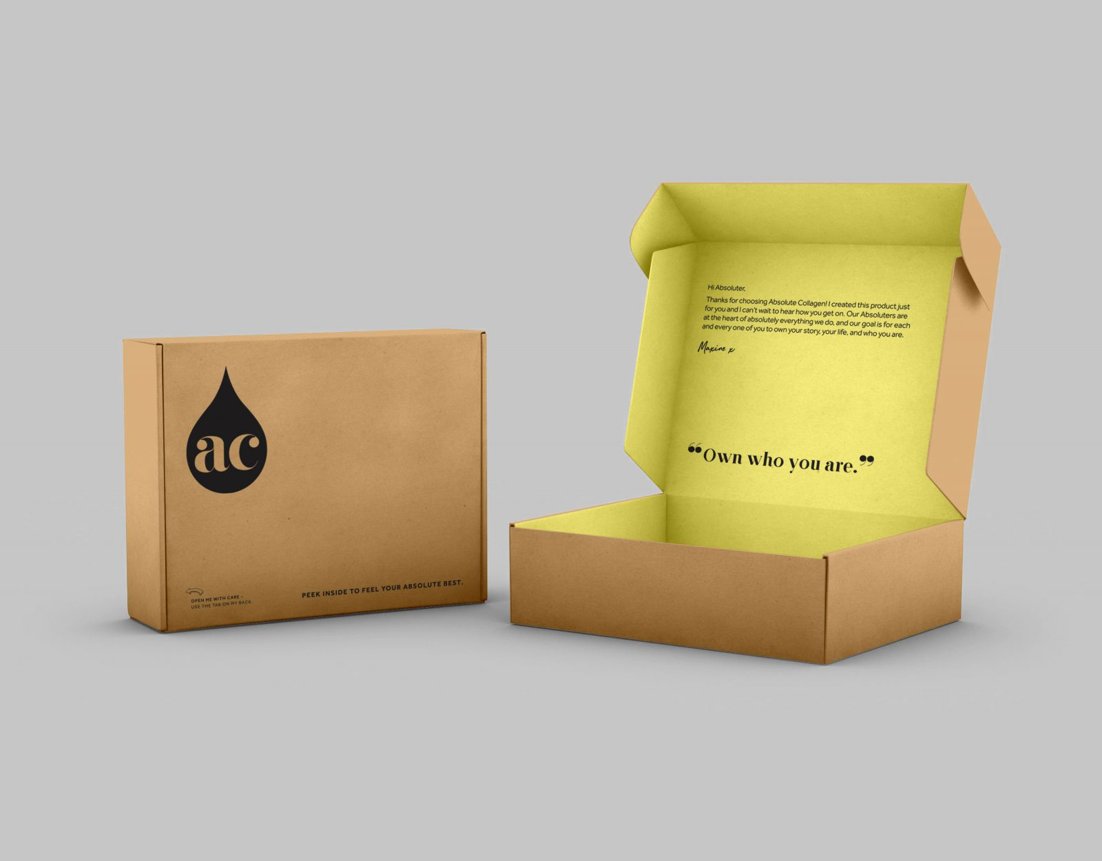 Absolute Collagen packaging